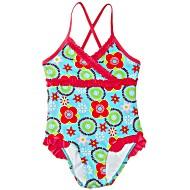Купальник детский сплошной для бассейна Playshoes Цветы