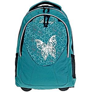 Универсальный школьный рюкзак на колесах Веstway 40028 цвет 2400 + дождевик