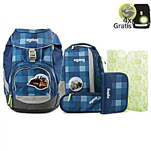 Рюкзак Ergobag KaroalaBEAR с наполнением + светоотражатели в подарок