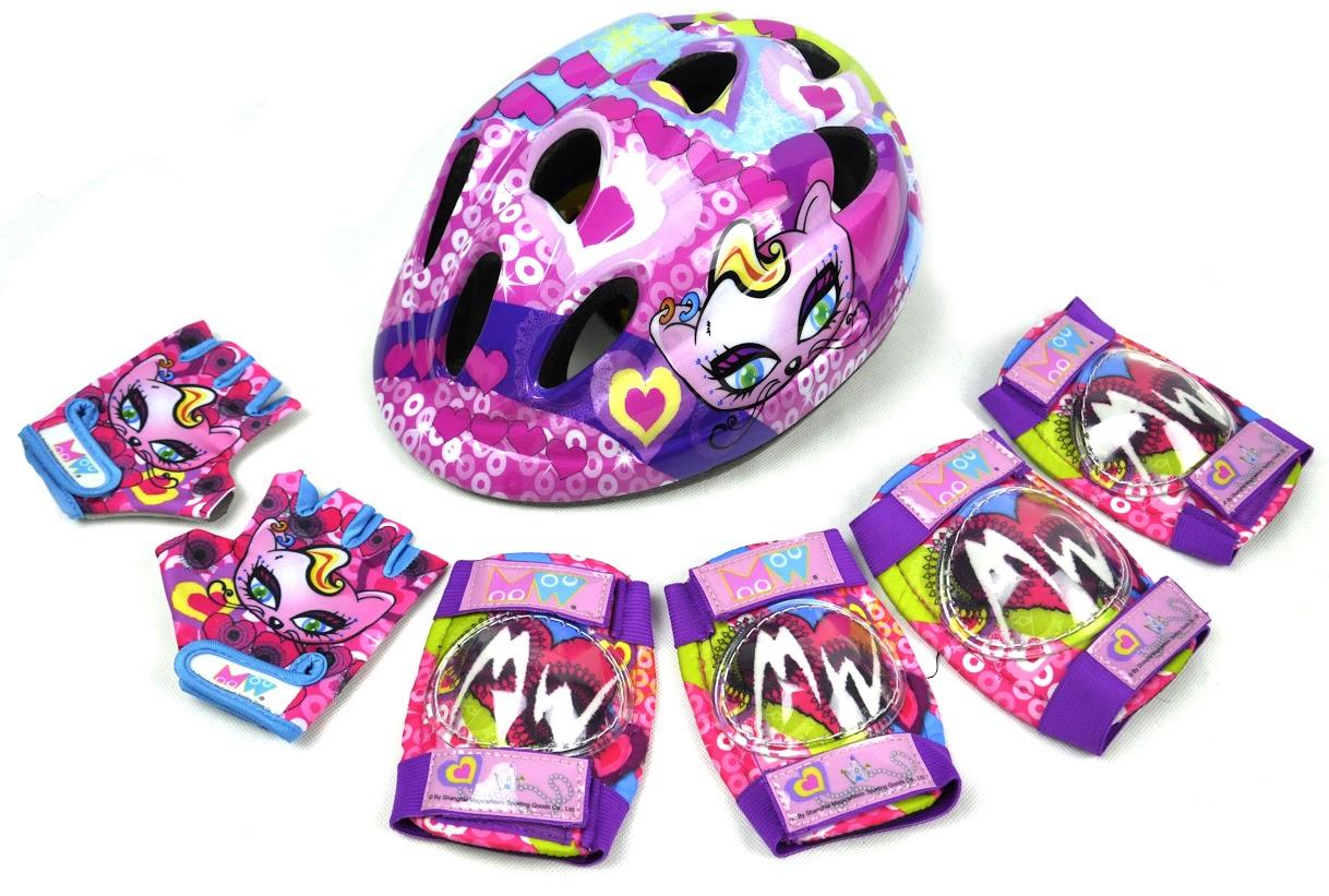 Комплект защиты для роликов детская, - фото 1