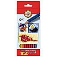 Цветные карандаши для начинающих Koh-i-Noor Собаки и Кошки