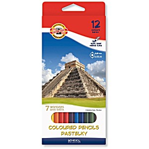 Набор цветных карандашей Koh-i-Noor 7 чудес света