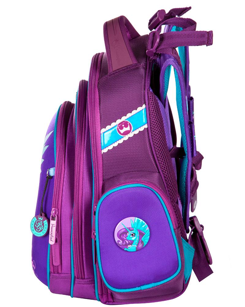 Школьный рюкзак Hummingbird TK34 официальный с мешком для обуви, - фото 2
