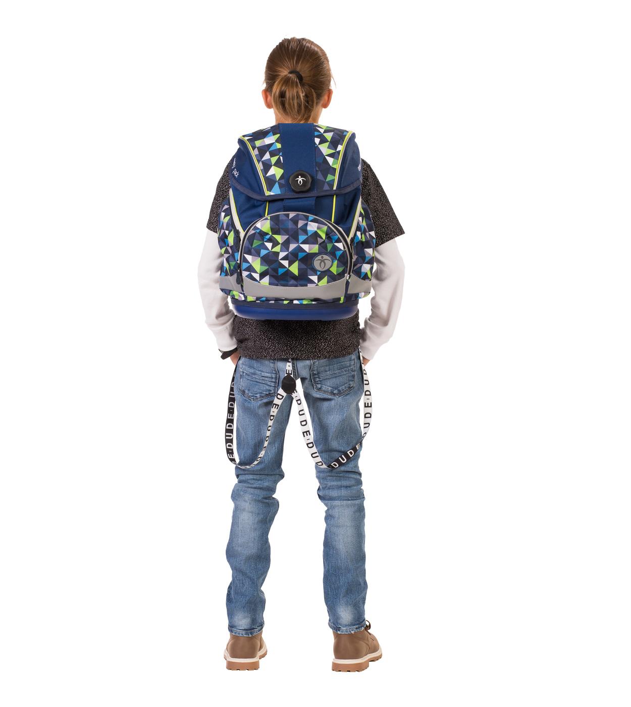 Ранец Belmil EASY PACK 404-40 BLUE PACK + мешок, - фото 15