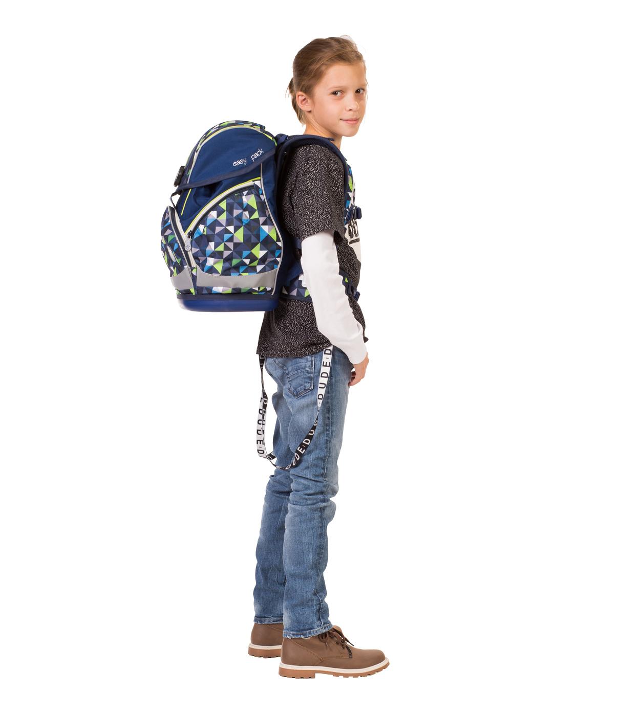 Ранец Belmil EASY PACK 404-40 BLUE PACK + мешок, - фото 16