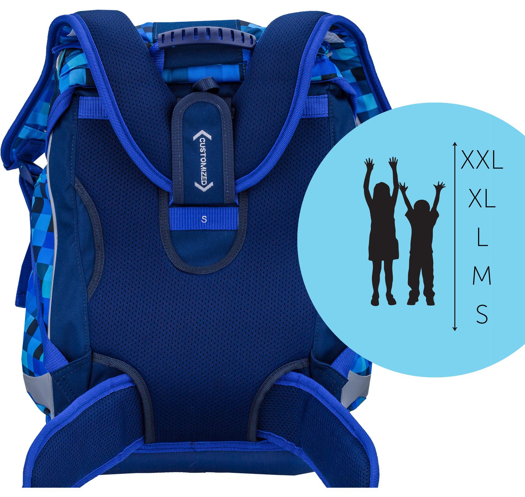 Ранец Belmil EASY PACK 404-40 BLUE PACK + мешок, - фото 6