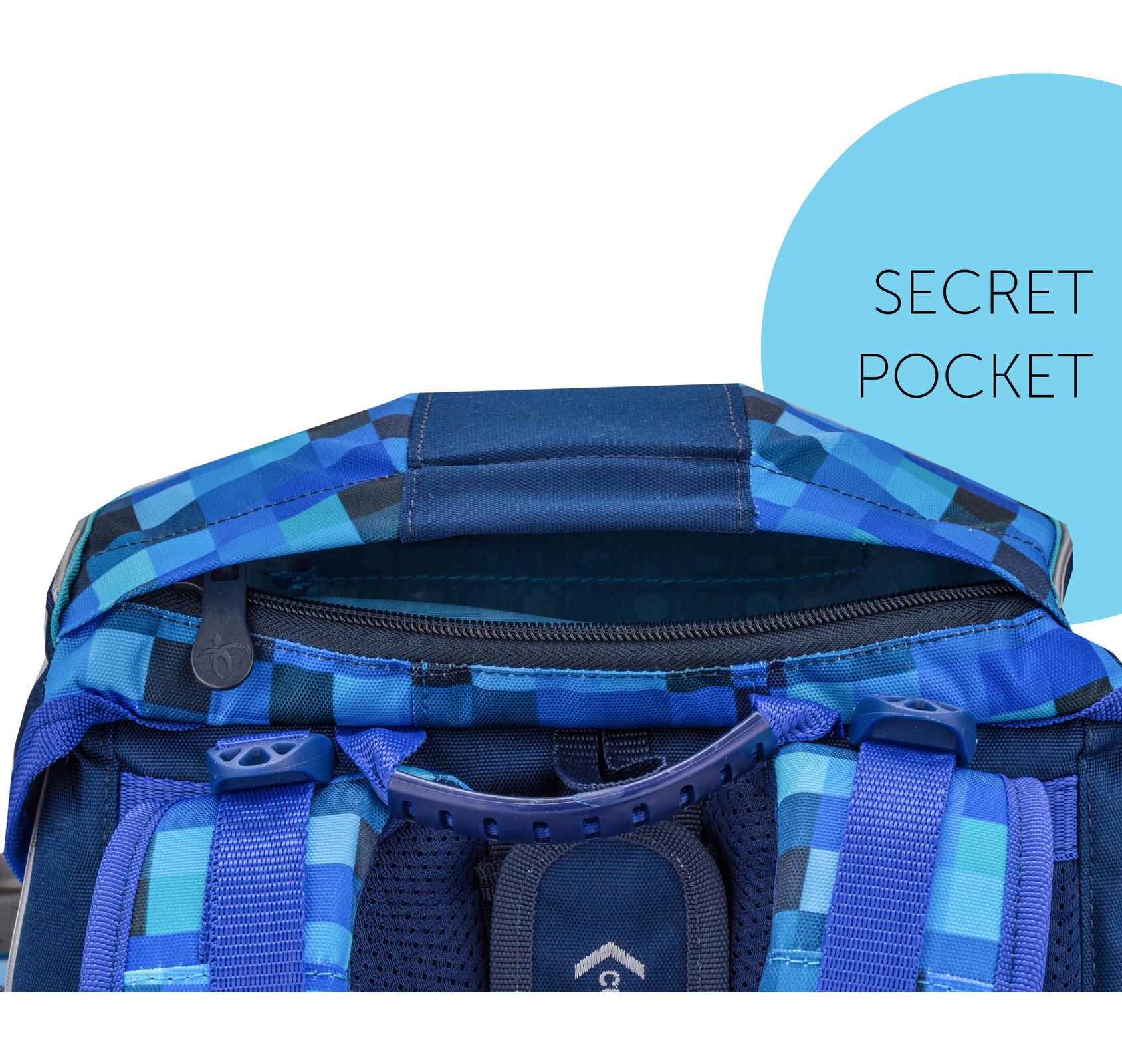 Ранец Belmil EASY PACK 404-40 BLUE PACK + мешок, - фото 7