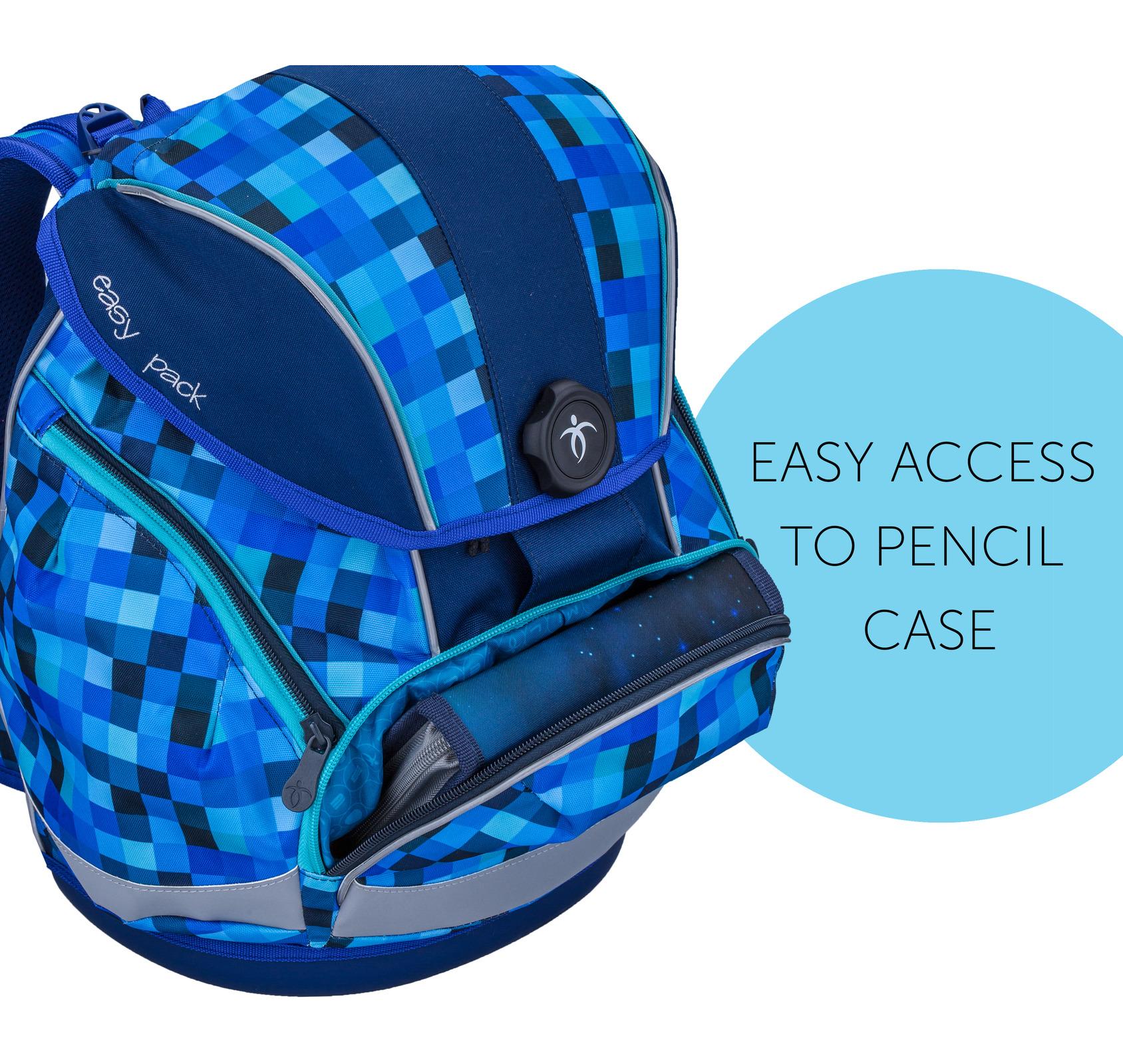 Ранец Belmil EASY PACK 404-40 BLUE PACK + мешок, - фото 8