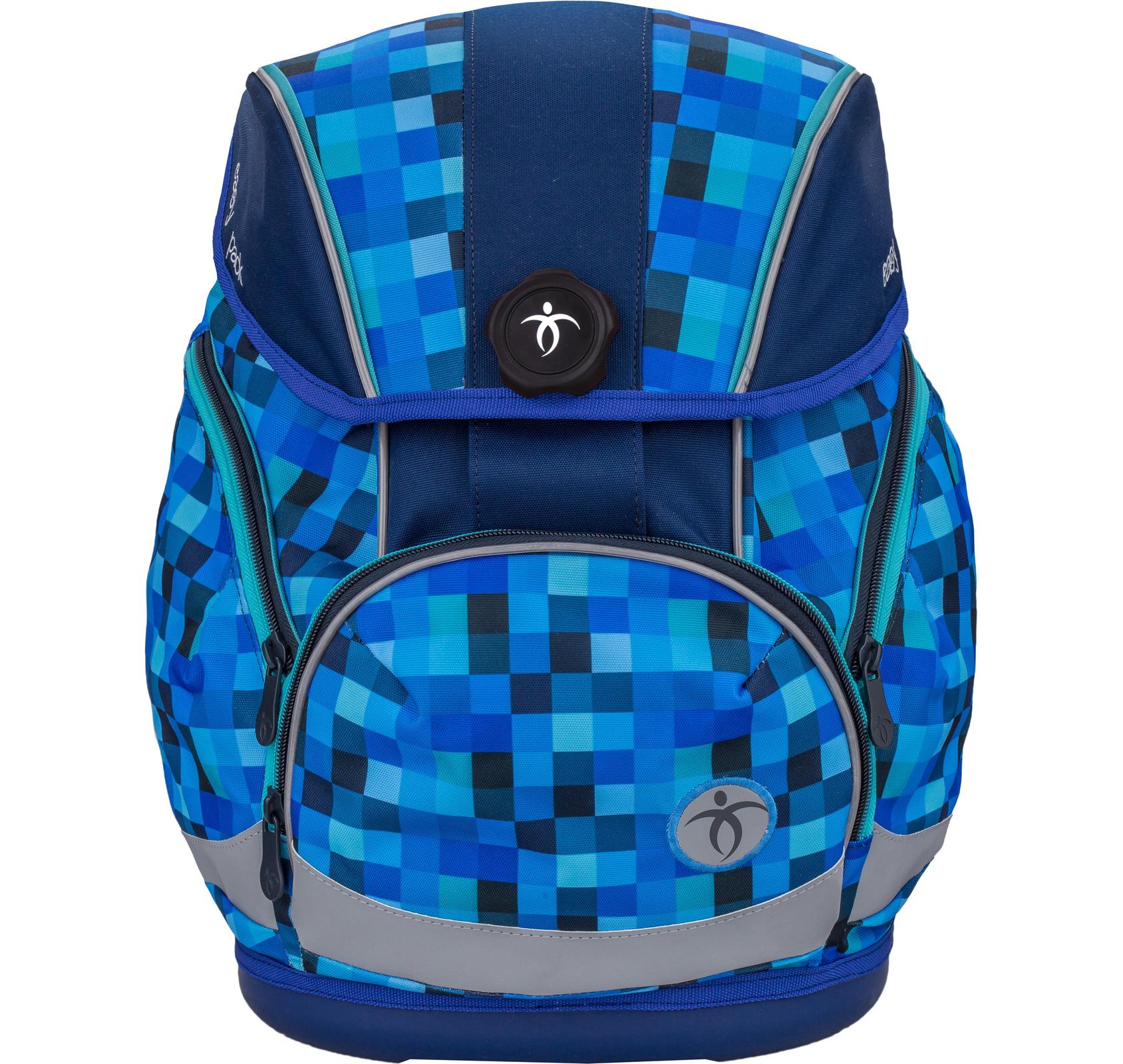 Ранец Belmil EASY PACK 404-40 BLUE PACK + мешок, - фото 1