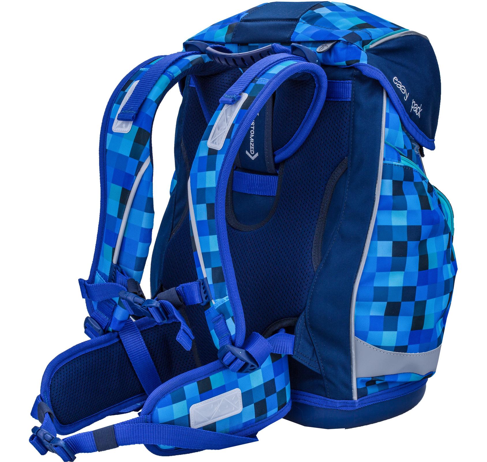 Ранец Belmil EASY PACK 404-40 BLUE PACK + мешок, - фото 5