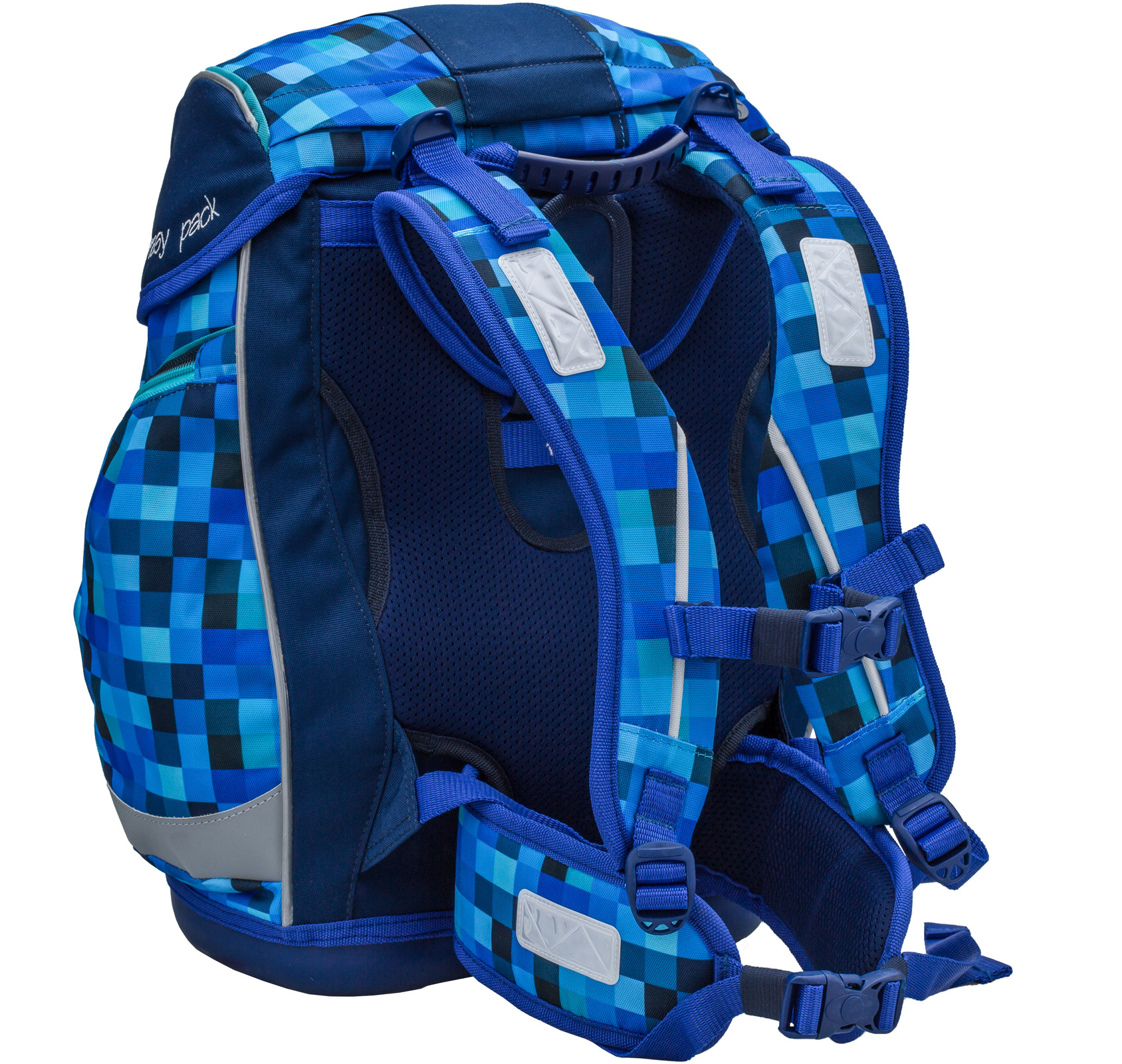 Ранец Belmil EASY PACK 404-40 BLUE PACK + мешок, - фото 4
