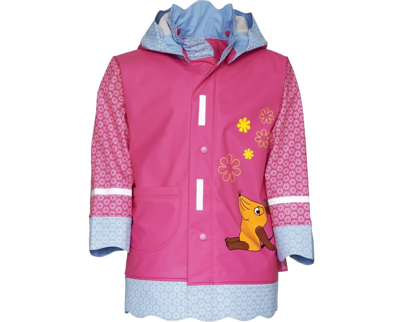 Непромокаемая куртка для детей Playshoes Мышка и Слон + средство для стирки, - фото 5