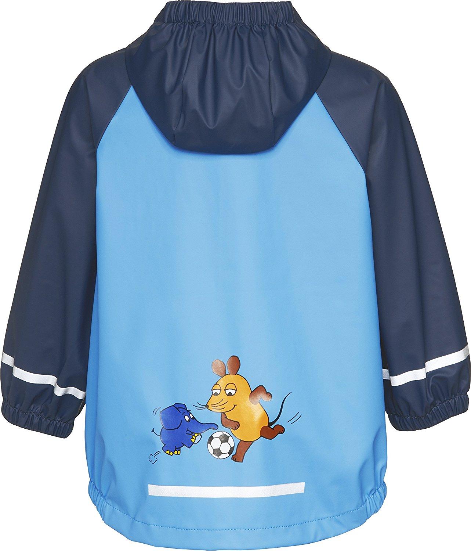 Непромокаемая куртка для детей Playshoes Мышка и Слон + средство для стирки, - фото 2