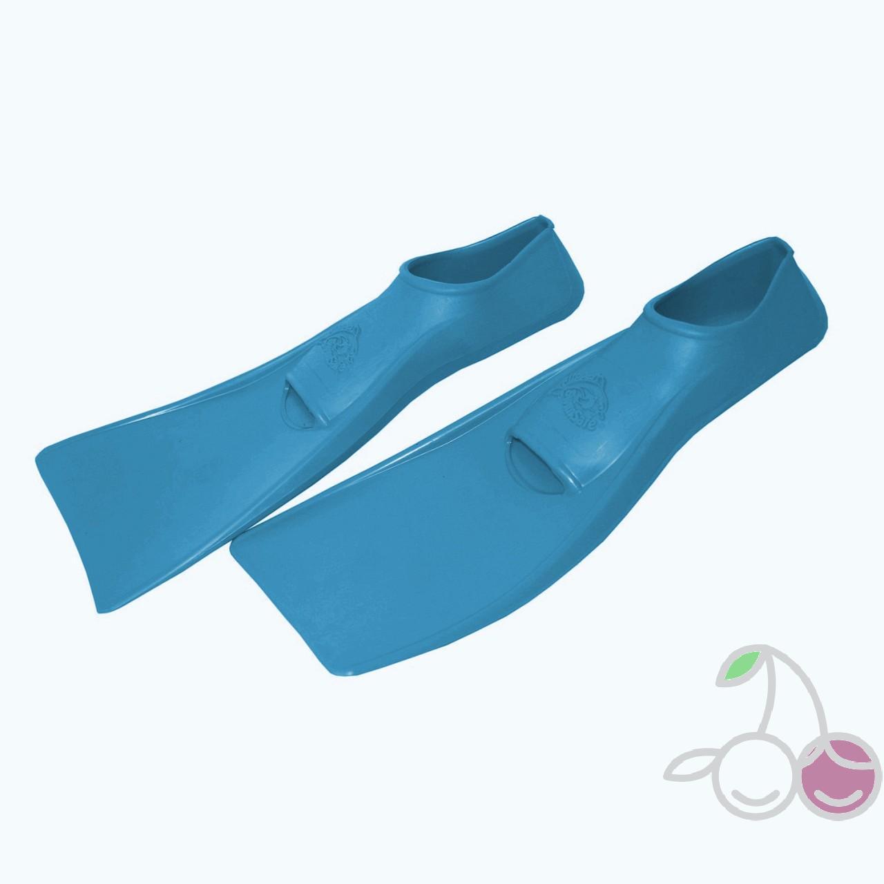 Ласты для бассейна резиновые детские размеры 23-24 синие ПРОПЕРКЭРРИ (ProperCarry), - фото 2