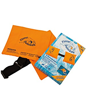 Flipper Swimsafe хлопчатобумажная подушка для плавания с регулируемой резинкой